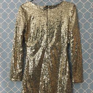 ❇️Bundle 4best $❇️ Gold glitter Short long Sleeve